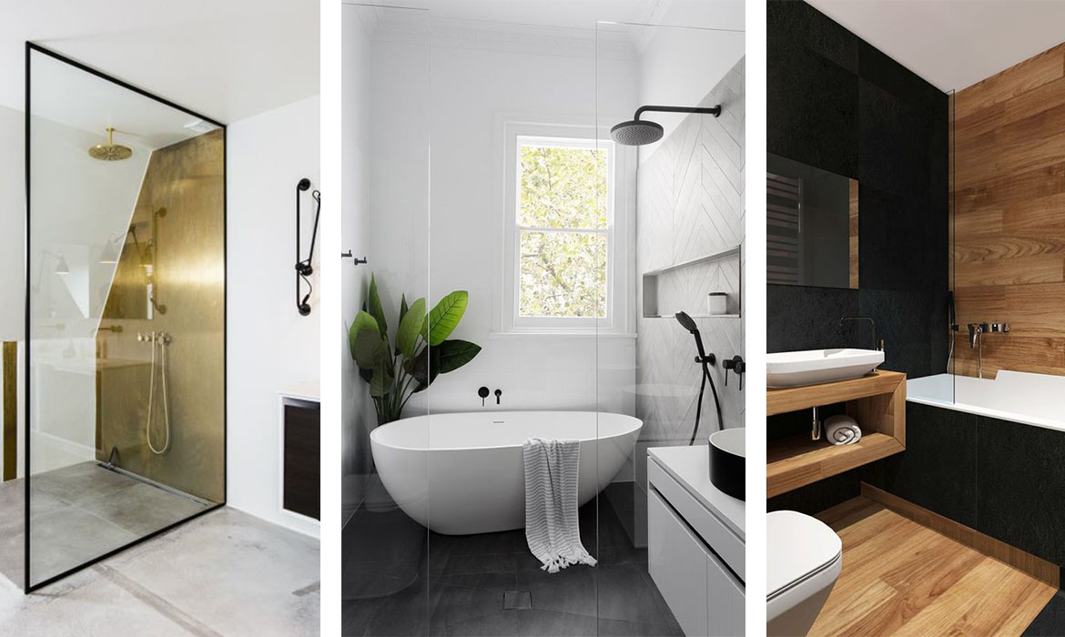 5 conseils pour une salle de bain design une hirondelle. Black Bedroom Furniture Sets. Home Design Ideas
