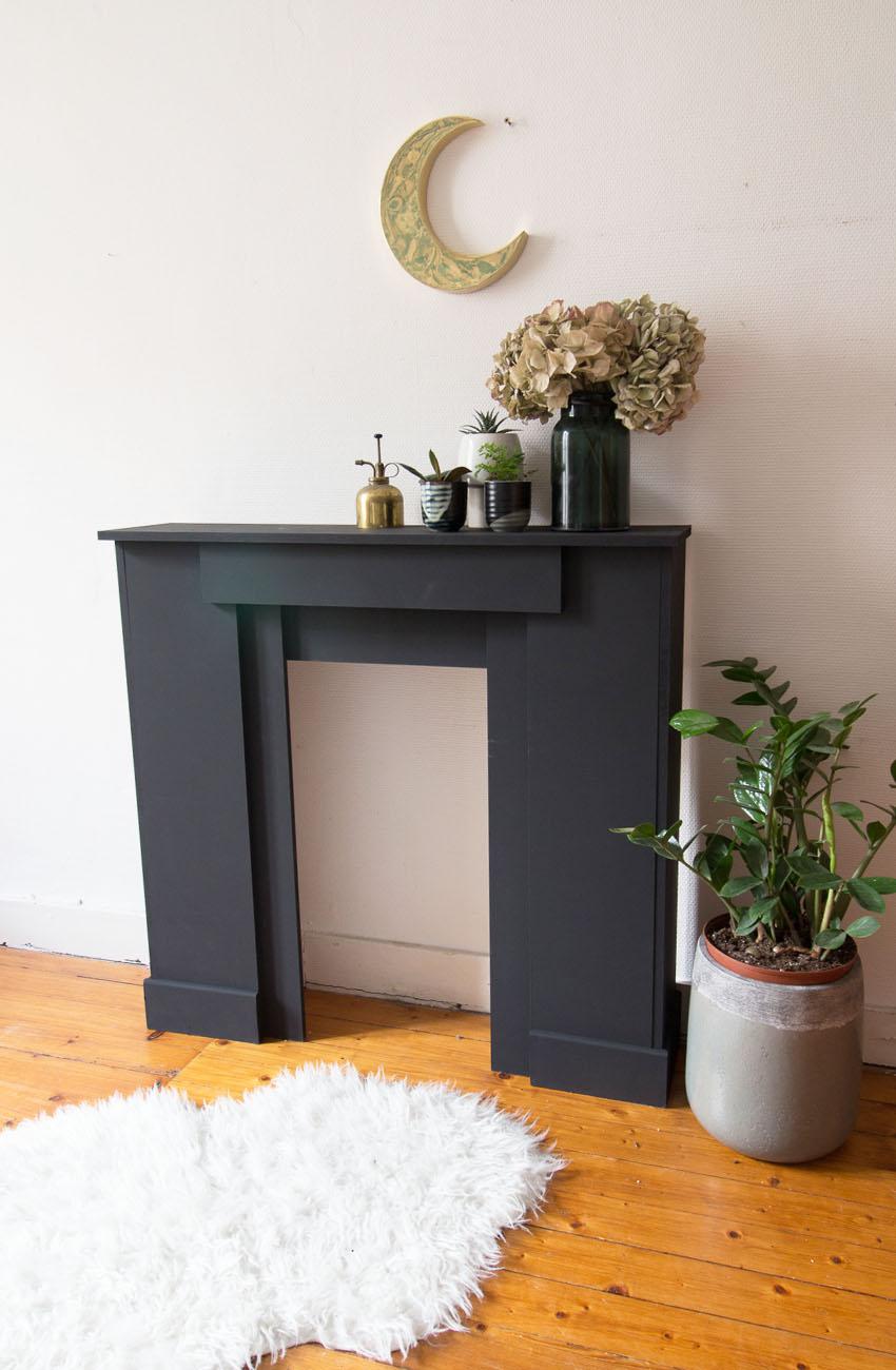 diy fausse cheminee 2 une hirondelle dans les tiroirs. Black Bedroom Furniture Sets. Home Design Ideas