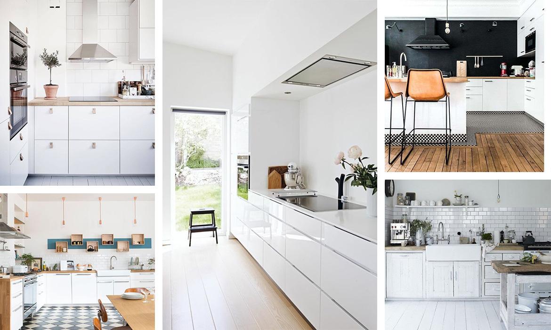 42 id es d co de cuisine blanche une hirondelle dans les tiroirs - Deco de cuisine ...